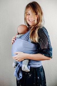 Elastisches Babywrap/ Babytragetuch aus 100% MicroModal - Colours - HoudiniMe