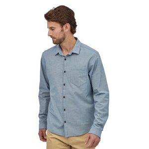 Hemd - M's L/S Organic Cotton Slub Poplin Shirt - Patagonia