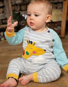 Baby Strick Overall *Giraffe* | GOTS zertifiziert | Frugi - Frugi
