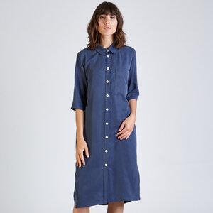 Hemdblusenkleid TESSA aus Tencel - stoffbruch