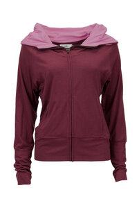 DEVI - Damen - Jacke mit Kapuze für Yoga und Freizeit - Jaya