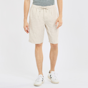 Leinenshorts - BIRCH loose linen shorts - VEGAN - KnowledgeCotton Apparel