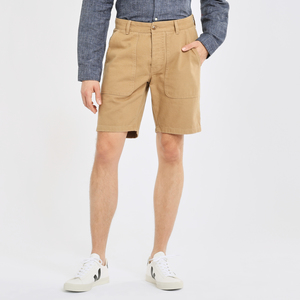 Workwear - Shorts - BIRCH loose shorts - KnowledgeCotton Apparel