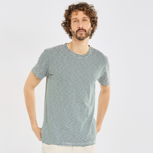 T-Shirt - ALDER narrow striped tee - KnowledgeCotton Apparel