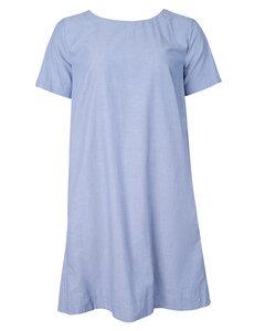 Chambray Dress Sommer Baumwoll Kleid - Alma & Lovis