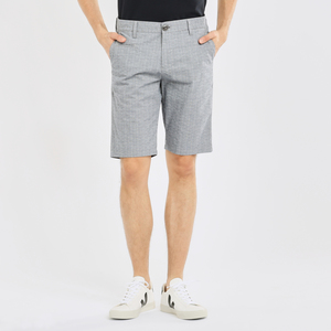 Shorts - CHUCK regular checked shorts - KnowledgeCotton Apparel