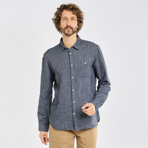 Leinenhemd - LARCH LS strutured linen shirt - KnowledgeCotton Apparel