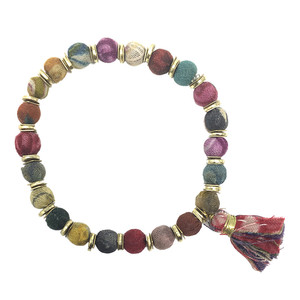 Kantha Armband Sequined - Worldfinds