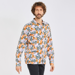 Hemd - LARCH LS flower shirt  - KnowledgeCotton Apparel
