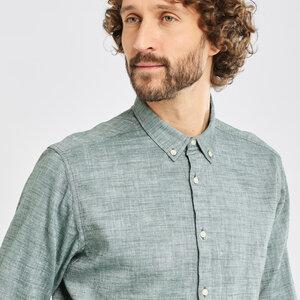 Leinenhemd-  LARCH LS linen shirt  - KnowledgeCotton Apparel