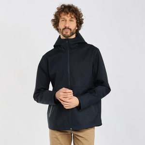 Funktions-Regenjacke - BEECH short hood jacket - GRS/Vegan - KnowledgeCotton Apparel
