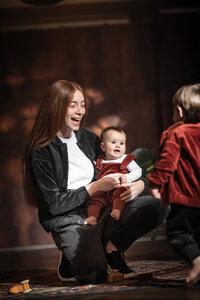 soki Baby Latzhose in henna - soki Kassel
