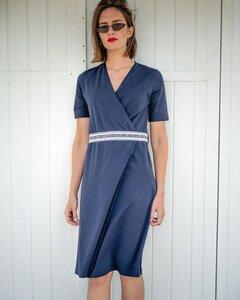 Wrap Dress - Sommer Kleid aus Baumwolle - Alma & Lovis