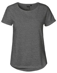 Damen Roll Up Sleeve T-Shirt von Neutral Bio Baumwolle Rollärmel - Neutral