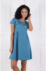 Kleid aus Bambus-Fasern und Bio-Baumwolle 'LA-022 Eva geo' - Lykka du Nord