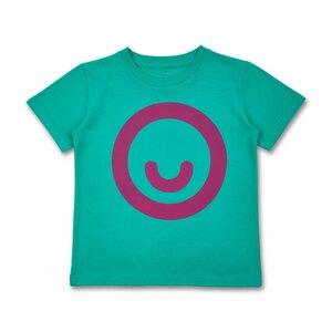 Manitober Erwachsenen Unisex T-Shirt Smiley (Bio-Baumwolle, kbA) - Manitober