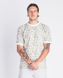 Herren T-Shirt | Olli | Oliven Print - Degree Clothing