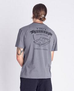 Herren T-Shirt mit Print aus Bio-Baumwolle - Adria & Sons  - Degree Clothing