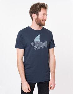 "Bio T-Shirt ""Haifisch navy"" - Zerum"