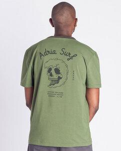 Herren T-Shirt mit Print aus Bio-Baumwolle - Adria Surf  - Degree Clothing