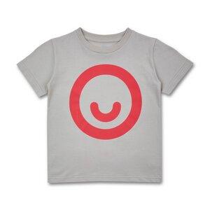 Manitober Kinder T-Shirt Smiley (Bio-Baumwolle kbA)  - Manitober