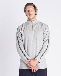 Herren Sweatshirt | Reißverschluss Half Zip | Hellgrau - Degree Clothing