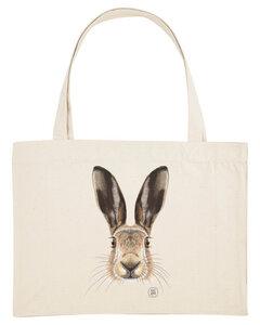 SHOPPING BAG Bio Baumwolle & Upcycling / Happy Eastern - Kultgut