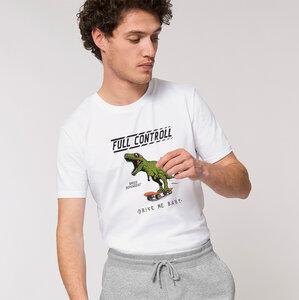 Flauschiges T-Shirt Reine Biobaumwolle / Full Controll - Kultgut