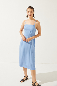 Caracola Dress splash blue - CUS