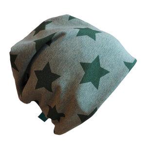 """Mütze """"Line"""" Sterne grün meliert - bingabonga®"""