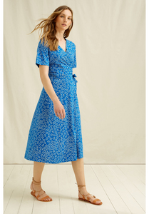 Kleid - Ria Butterfly Wrap Dress - People Tree