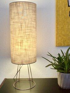 Tischleuchte Long Gulp taupe - my lamp