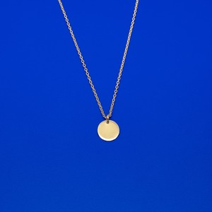 Kette 'shiny disc' - standard / extra lang - fejn jewelry