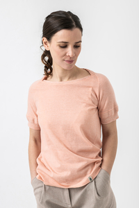 T-Shirt MILLA aus Biobaumwolle (kbA) - Grenz/gang