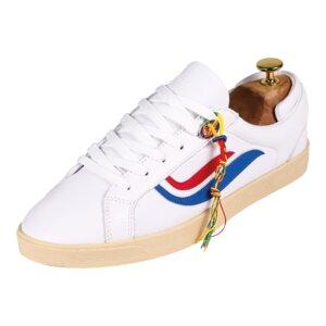Sneaker Damen - G-Helá Tumbled - White/Red/Blue - Genesis Footwear