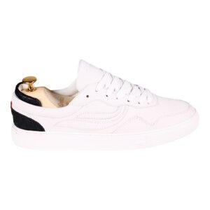 Sneaker Damen - G-Soley Nubuck Fish - Offwhite/Black - Genesis Footwear