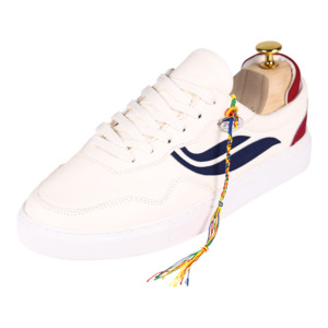 Sneaker Damen - G-Soley - White/Navy/Wine - Genesis Footwear