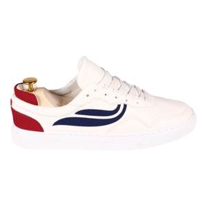 Sneaker Damen - G-Soley - White/Navy/Wine - Genesis Footwear