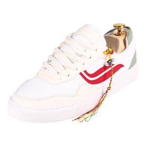 Sneaker Damen - G-Soley Mesh - White/Red/Shilf - Genesis Footwear