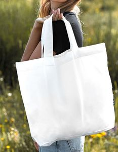 Baumwolltasche Einkaufstasche Shopper Groß - Neutral