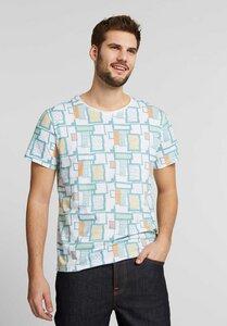 Herren T-Shirt Retro Grid Bio Fair - ThokkThokk