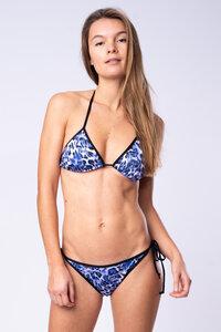 """Blue Leo"" - Triangel Bikini Top - Flying Love Birds"