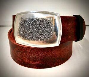 HAVANNA - Handgemachter Ledergürtel  - SaSch belt & bags