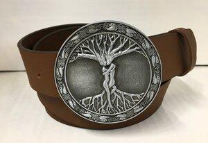 ROOTING OF LOVE - Handgemachter Ledergürtel  - SaSch belt & bags