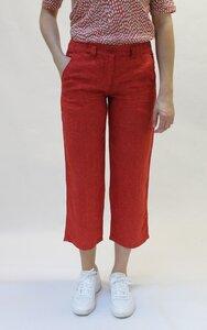 Rote Damenhose mit elastischem Bund - bloomers