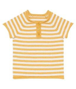 Baby Strick Shirt * Rene gelb; navy * GOTS zertifiziert Sense Organics - sense-organics