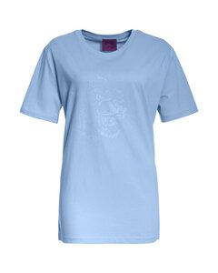 MYINTOX Crazy Leopard Basic T-Shirt aus Bio-Baumwolle - MYINTOX