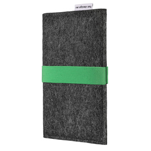Handyhülle AVEIRO für Fairphone - VEGANer Filz - anthrazit - flat.design