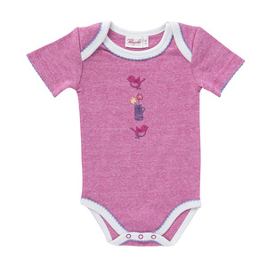 People Wear Organic Baby Kurzarm-Body reine Bio-Baumwolle - People Wear Organic