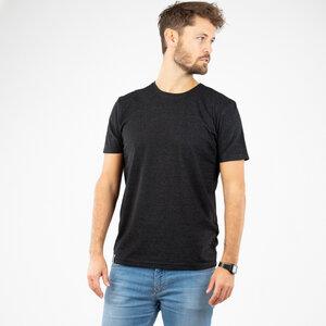 """T-Shirt Herren - upc. Baumwolle + rec. Polyester """"Neps"""" weiß/schwarz - Vresh Clothing"""